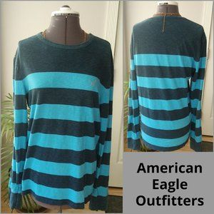 AEO Wide Striped Long Sleeved T